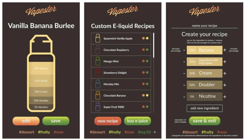 There's A New App For Mixing Your Own E-Liquids